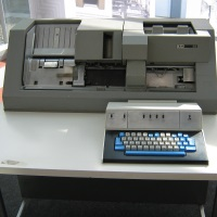 IBM Card Punch Machine
