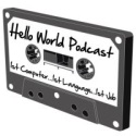 Hello World Podcast Logo