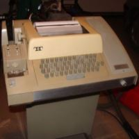 Teletype Printer